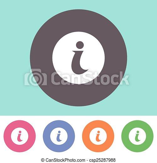 Info icon - csp25287988