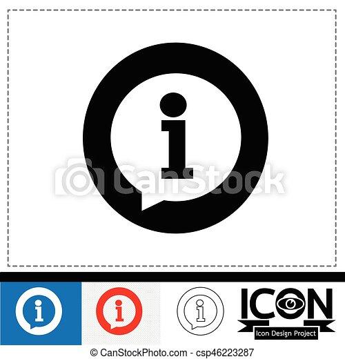 info icon - csp46223287