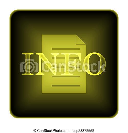 Info icon - csp23378558