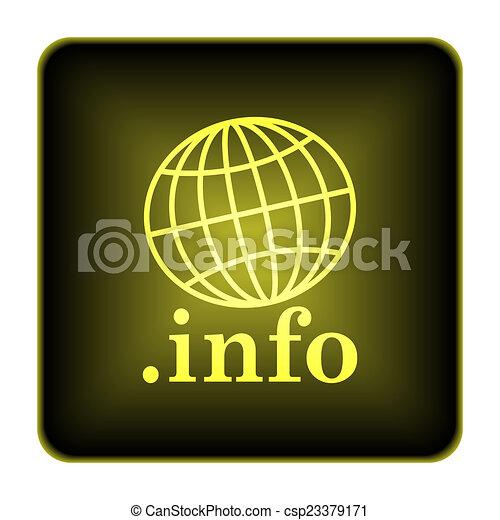 .info icon - csp23379171