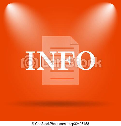 Info icon - csp32428458