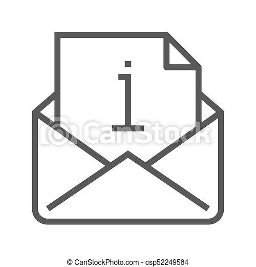 infopost stempel vektor