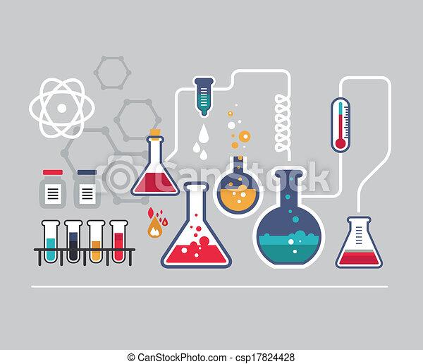 infographic, chimie - csp17824428