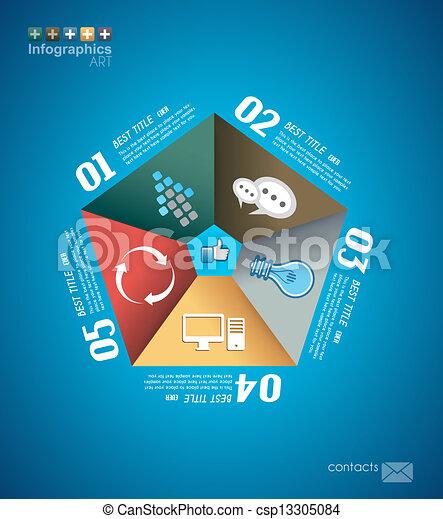 Infographic design - original paper  - csp13305084