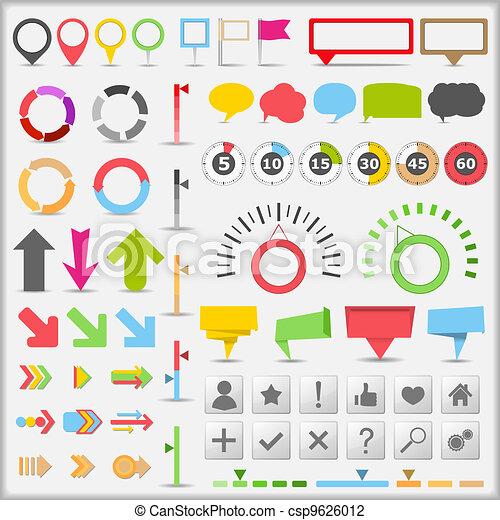 Infographic elements - csp9626012