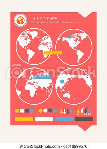 Infographic Elements. - csp18999576
