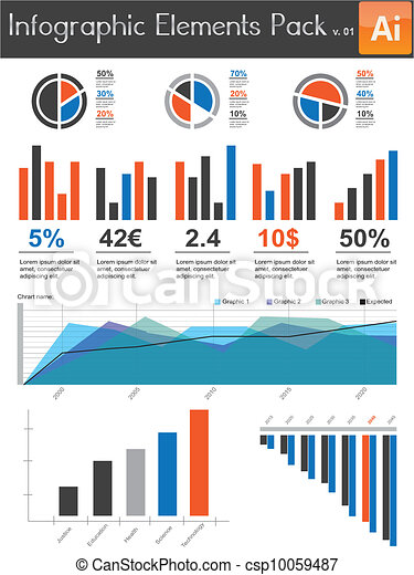 Infographic Elements Pack v.01 - csp10059487