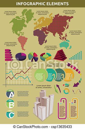 infographic - csp13635433