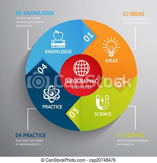infographic, opleiding, tabel - csp20748476