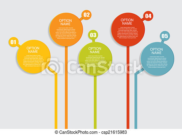 Infographic Templates for Business Vector Illustration. - csp21615983