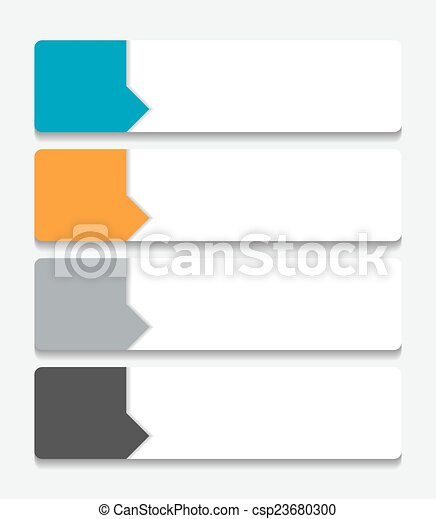 Infographic Templates for Business Vector Illustration. - csp23680300