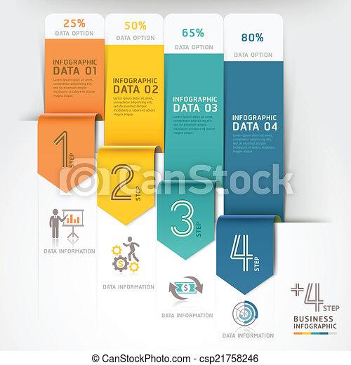 infographics., business, flèche - csp21758246