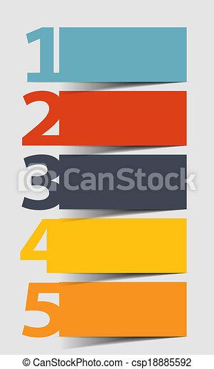 INFOGRAPHICS design elements vector illustration - csp18885592