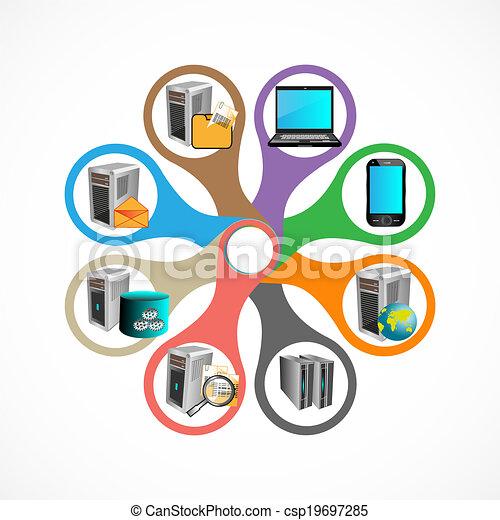 infographics, tecnologia - csp19697285