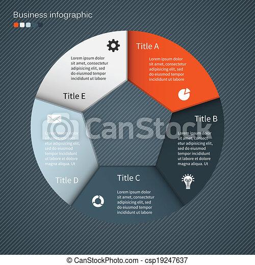 információs anyag, grafikus, ügy, modern, terv, vektor - csp19247637