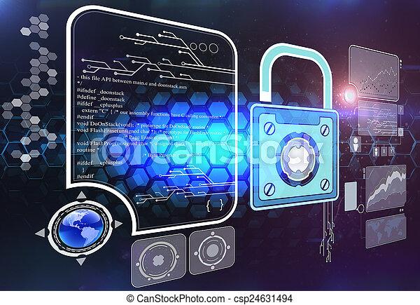 informacja, bezpieczeństwo - csp24631494