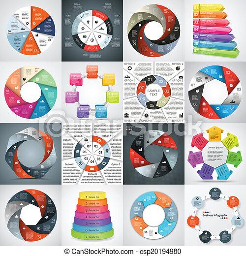informacja, graficzny, handlowy, nowoczesny, projekt, wektor - csp20194980