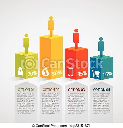 informacja, kolumna, skwer, grafika, - - csp23151671