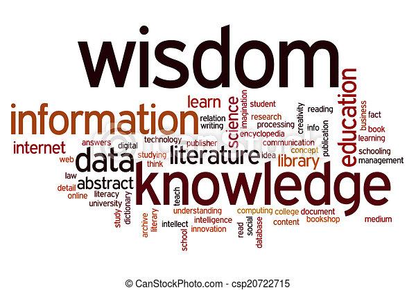 informatie, woord, kennis, wijsheid, data, wolk - csp20722715