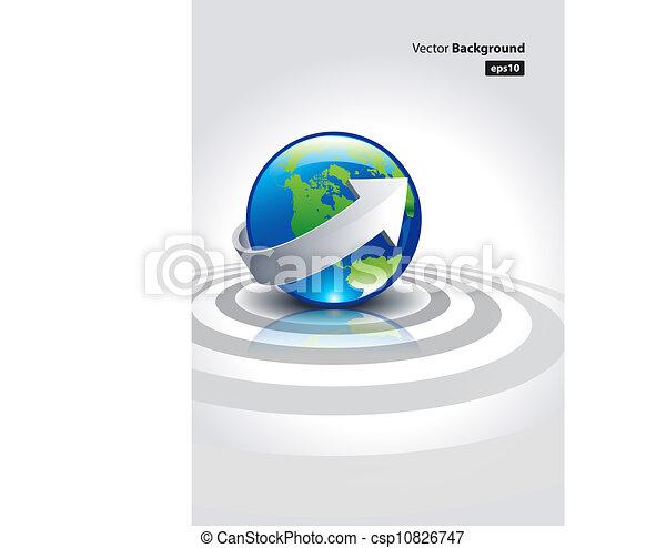 informatieboekje , aarde - csp10826747