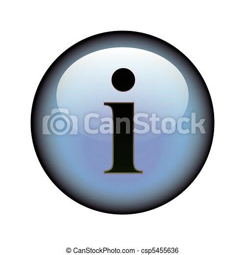 Information Button - csp5455636