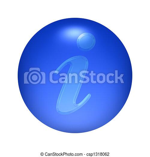 Information Button - csp1318062
