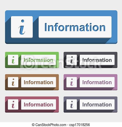 Information Button - csp17018256