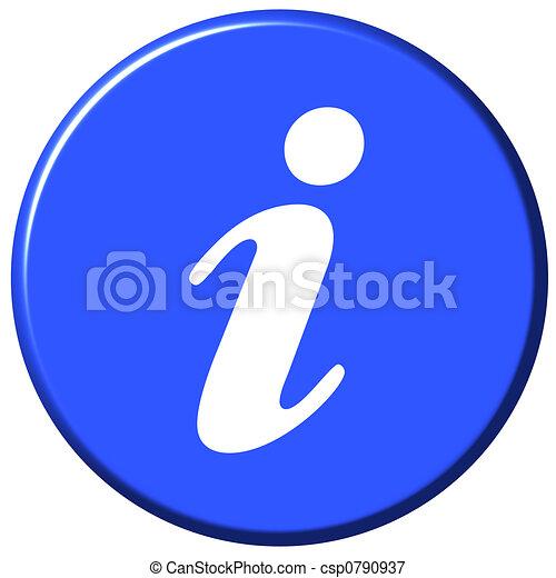 Information Button - csp0790937