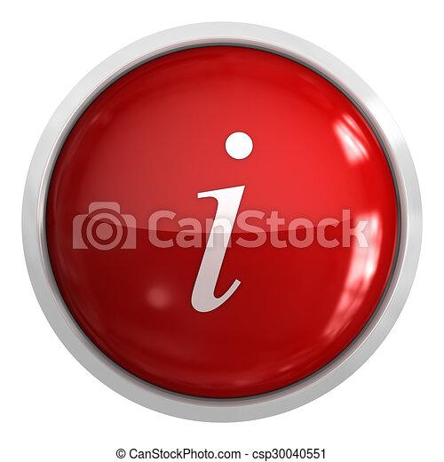 Information button - csp30040551