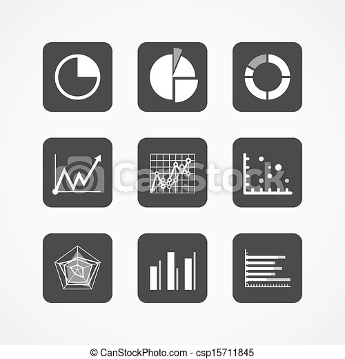 Information chart icons collection - csp15711845