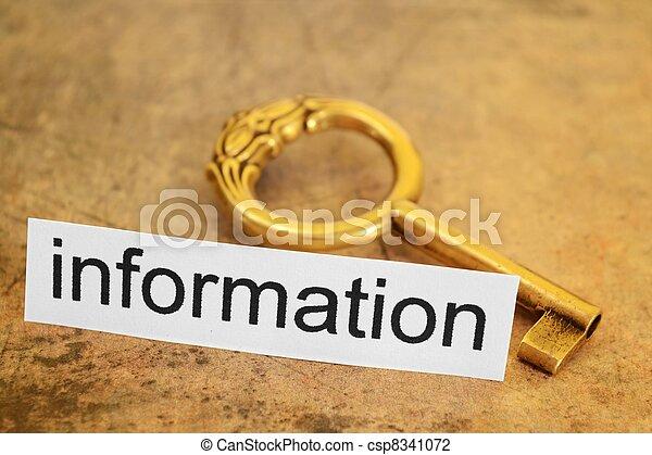Information concept - csp8341072
