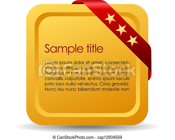 information, planche - csp12934559