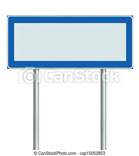 information road sign isolated blank empty signpost copy space for