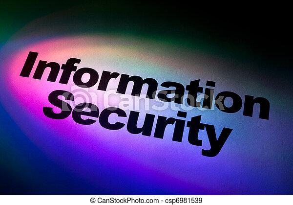 Information Security - csp6981539
