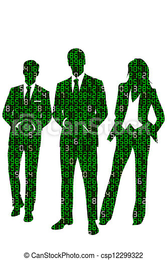 Information Technology Concept Illustration About Business