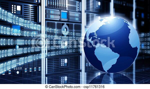 Informationstechnologie-Konzept - csp11761316