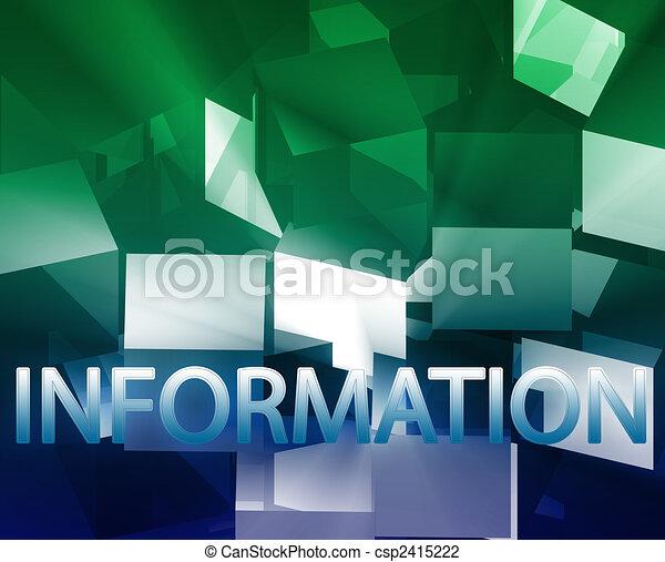 Informationsströmung Illustrationen und Clip Art. 16.178 ...