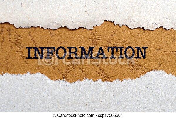informationen - csp17566604