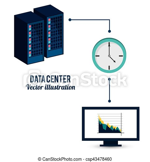 Datenzentraler Informationstransfer - csp43478460