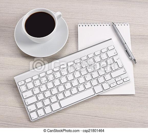 informatique, bureau - csp21801464