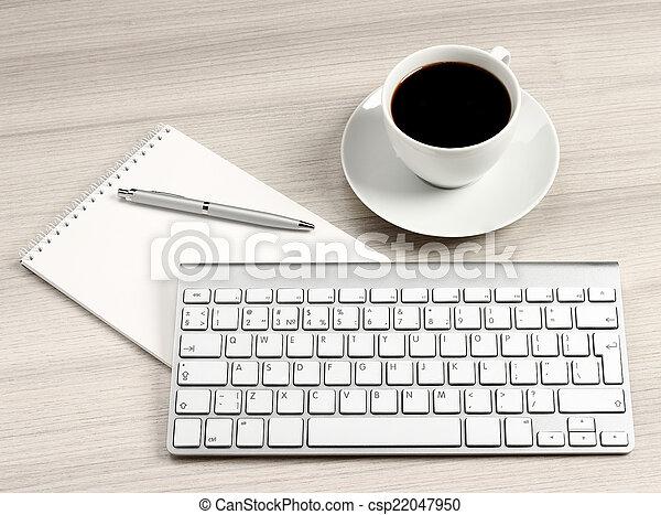 informatique, bureau - csp22047950