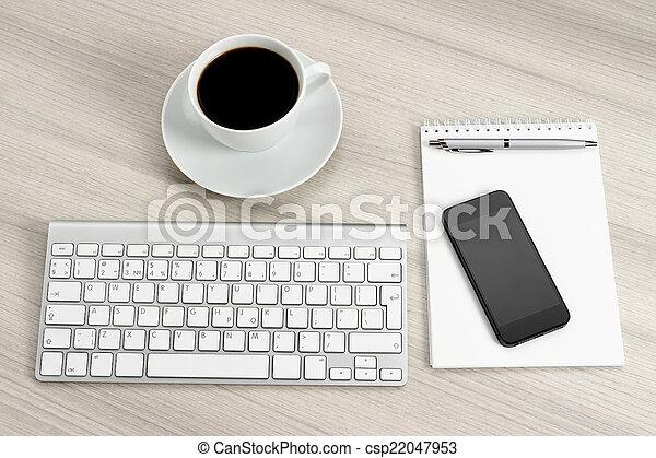 informatique, bureau - csp22047953