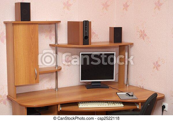 informatique, bureau - csp2522118