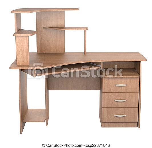 informatique, bureau - csp22871846