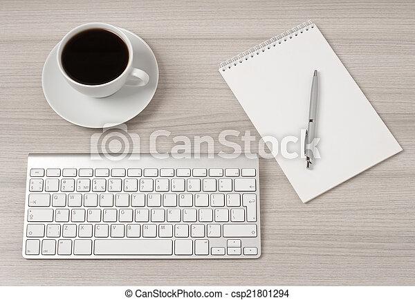 informatique, bureau - csp21801294