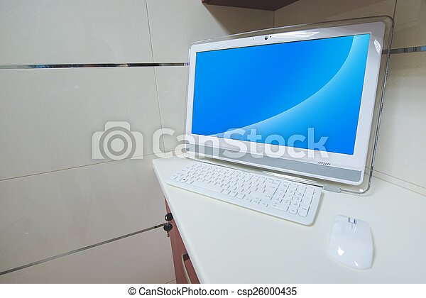 informatique, bureau - csp26000435