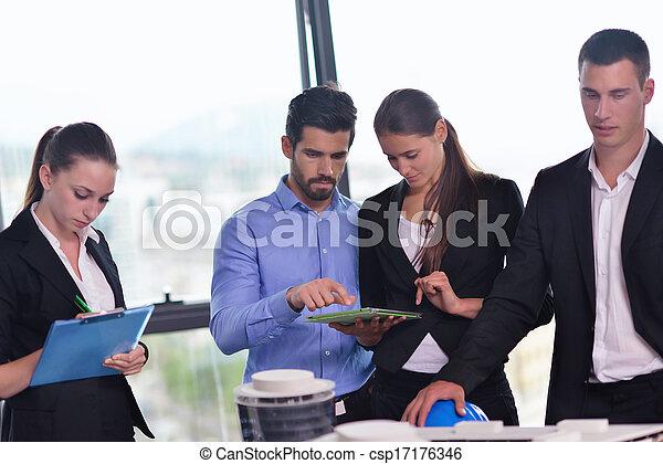 ingénieurs, réunion, professionnels - csp17176346