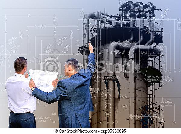 ingeniería, industrial, tecnología - csp35350895