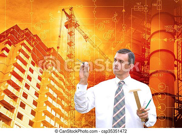 ingeniería, industrial, tecnología - csp35351472