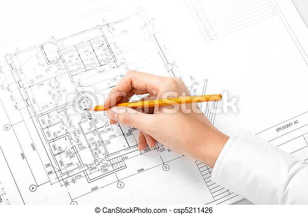 ingeniería, trabajo - csp5211426